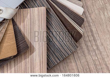 Color wood texture palette guide close up