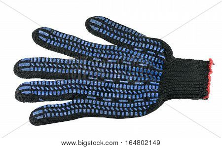 the gauntlet gloves on a white background