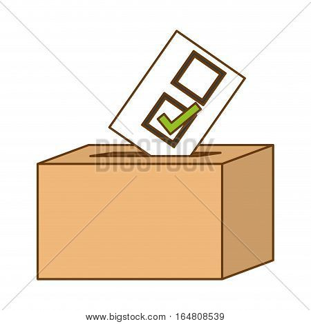 vote related icons image vector illustration design