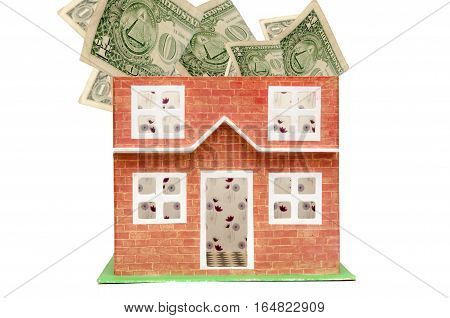 Real Estate And Property Prices Concept Showing The Cost Of Houses