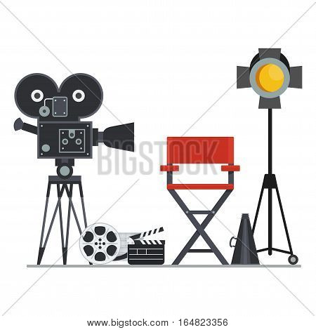 Film Set Director Chair