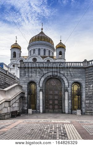 white gold Cathedral of Christ the Savior was consecrated in 1883. Here were the main public and religious holidays