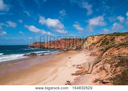 Portugal - Cliffs, Ocean And Beach