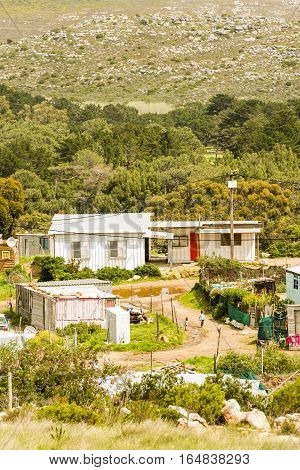 Shanty Town South Africa
