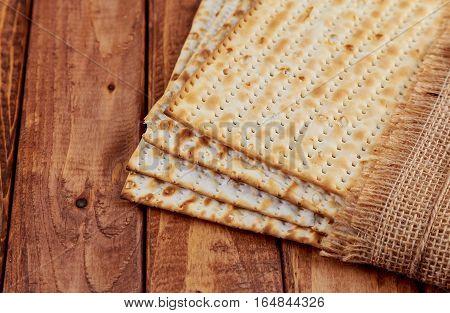 Pesah celebration concept jewish Passover holiday Pesach Matza