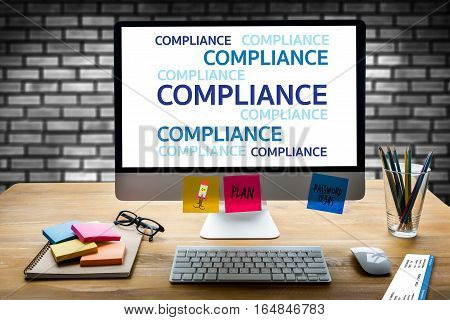 Regulatory Compliance Business Metaphor And Technolog  Describes The Goal