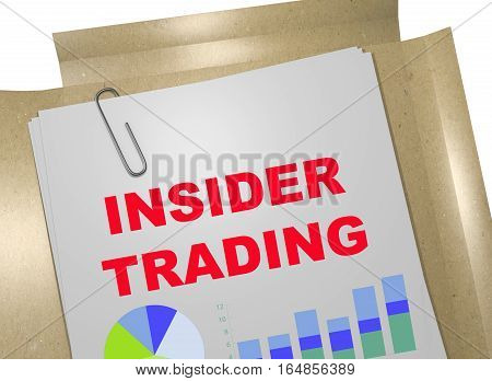 Insider Trading - Business Concept