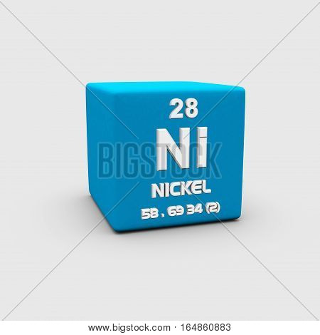 Nickel is a chemical element with symbol Ni and atomic number 28.