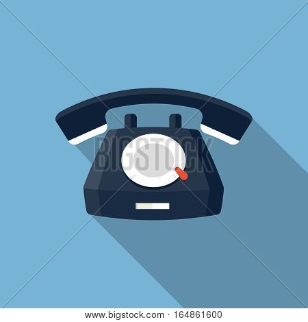 Vector Telephone Icon, design element for mobile and web applications, eps 10