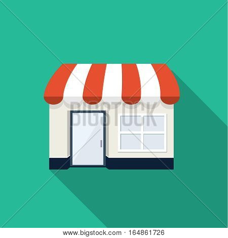 Store shop icon, design element for mobile and web applications, eps 10