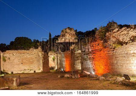 The Old Roman Baths of Odessos Varna Bulgaria