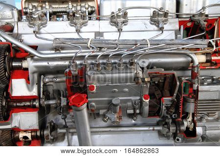 Gas Engine Background