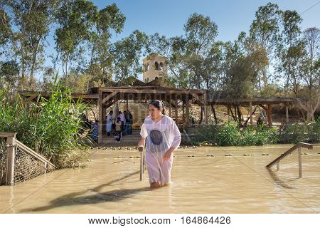 Qasr El Yahud On The Jordan River The Place Where Jesus Was Baptized By John The Baptist
