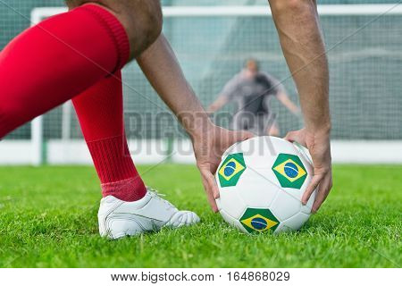 Penalty Kick In Brazil