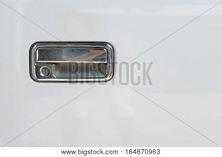 Car Door Handle For Opening Car Doors Equipment Of Vehicle.