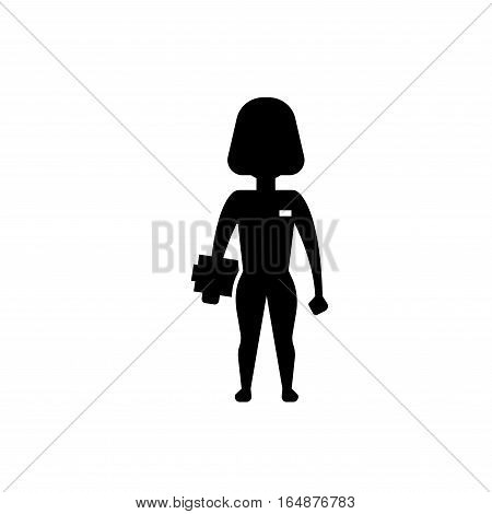 Ems training web icon in flat style. Electric muscular stimulating fitness vector illustration