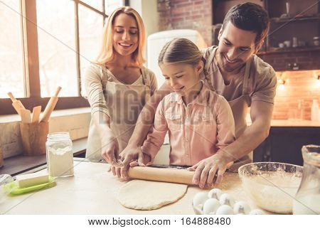 Young Family Baking