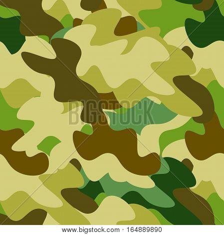 seamless pattern protective coloration Military Defender of Fatherland Day vector illustration