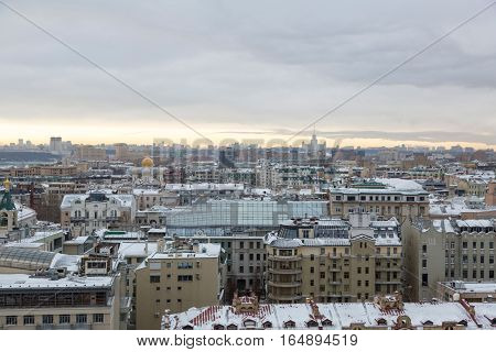 City View Of Moscow, Russia
