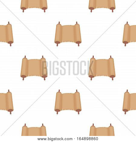 Tanakh icon in cartoon style isolated on white background. Religion pattern vector illustration.