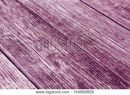 Wooden Purple Surface With Scratches And Blur Effect