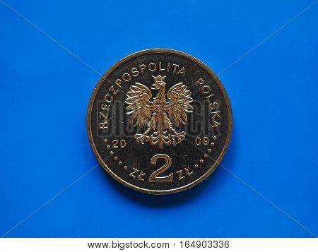 Two Polish Zloty Coin, Poland