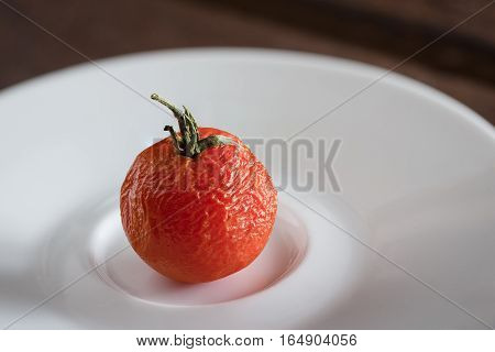 Sear Tomato On The Plate