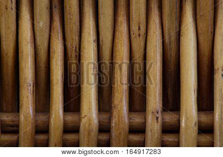 rattan pattern background close up detail horizontal