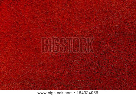 Natural background of plaster in red color, Lakatnik,  Bulgaria
