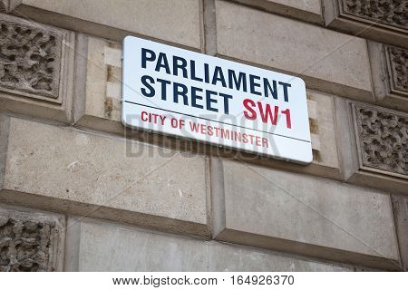 Parliament Street, London