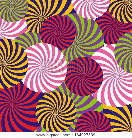 Vector Pop Art Abstract Pattern Background Illustration