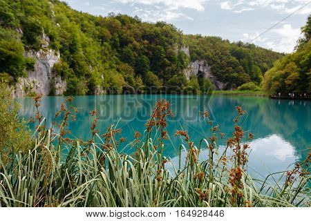 Clear Lake in the Plitvice Lakes National Park.