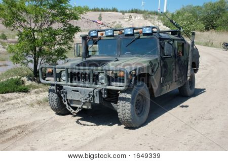 Us Military Vehicle Hummer H1
