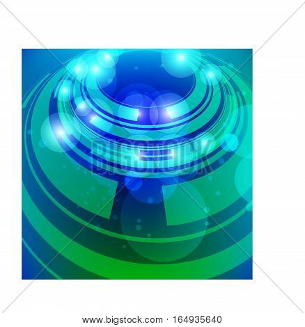 Abstract background for your design an invitation to a party or a video screensaver
