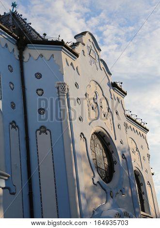 Bratislava Slovakia Blue Church in Bratislava in slovakia