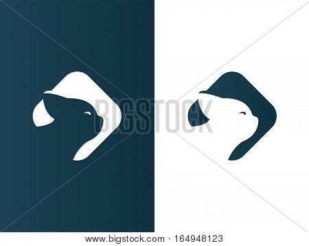 Cat logotype elegant business modern - isolated vector illustration