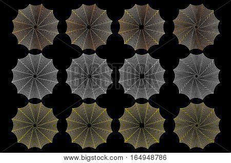 spider web , Cobweb set , halloween ,
