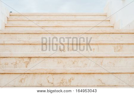 Stairs. Stone stairs. Facade. Marble steps. Texture