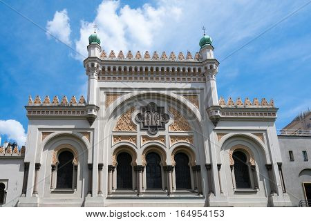 Ancient Spanish Synagogue in Prague Czech Republic