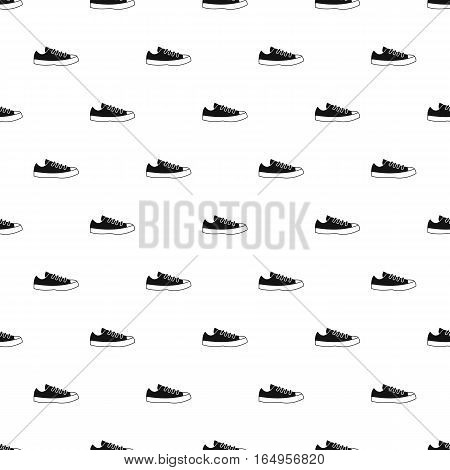 Sneaker pattern. Simple illustration of sneaker vector pattern for web
