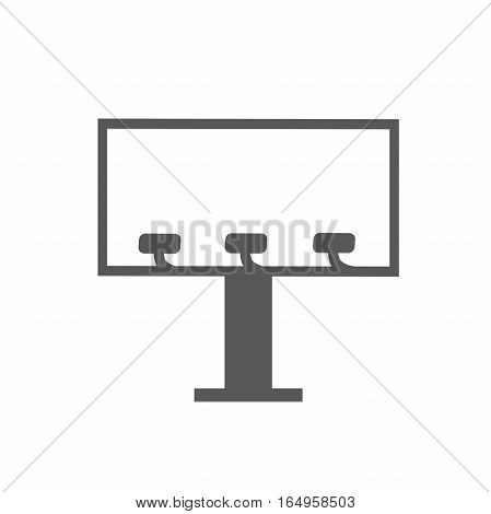 Billboard or Scoreboard with Lights at an Angle