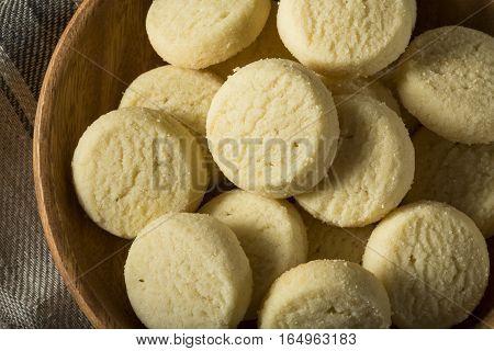 Homemade Sweet Shortbread Cookies