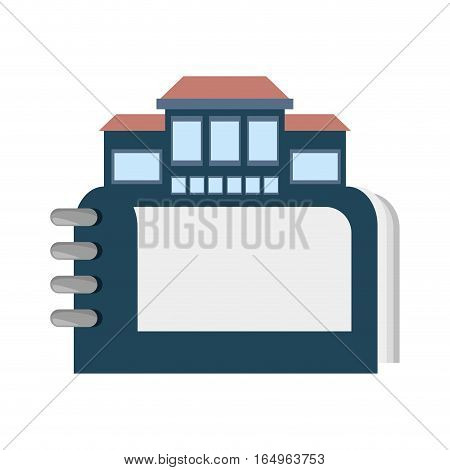 real estate directory catalog symbol vector illustration eps 10