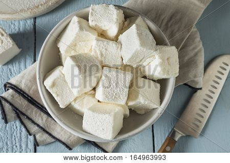 Homemade Sweet Square Marshmallows