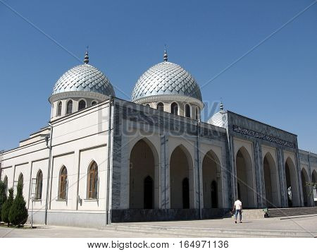 Two Cupolas of Juma Mosque in Tashkent Uzbekistan September 13 2007