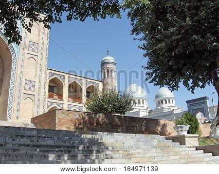 Kukeldash Madrassah and Juma Mosque in Tashkent Uzbekistan September 13 2007