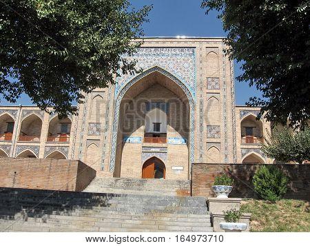 Kukeldash Madrassah in Tashkent Uzbekistan September 13 2007