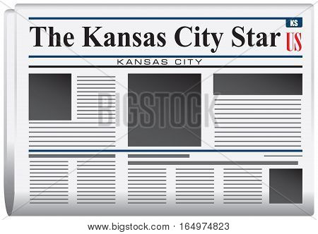 Newspaper for Kansas - newspaper the Kansas City Star.