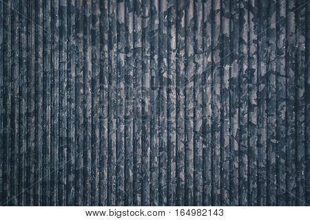 Zinc galvanized metal plate texture as industrial background
