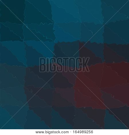 Abstract indigo teal blue futuristic triangle shapes background